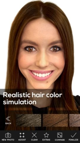 Hair Color Studio для Android