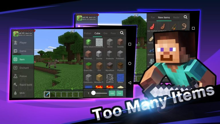 Master for Minecraft для Android