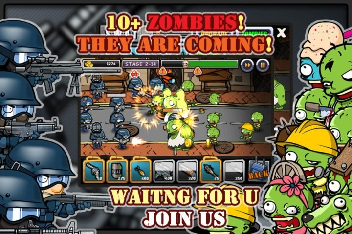 SWAT vs Zombies для Android