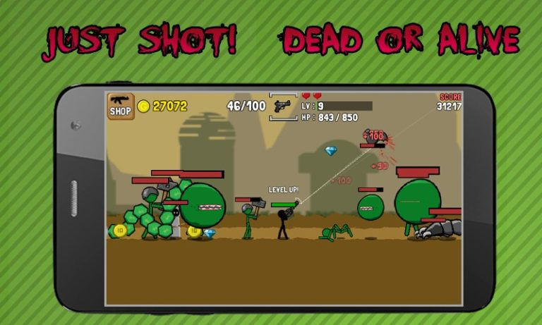 Stickman And Gun для Android