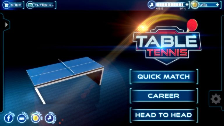 Table Tennis 3D для Android