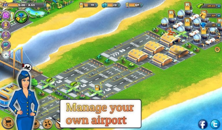 City Island Airport для Android