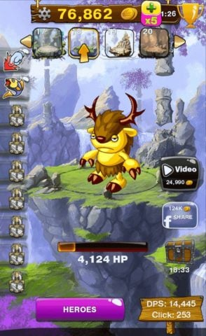 Clicker Wars для Android