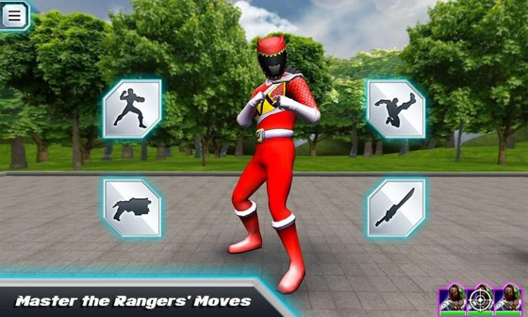 Power Rangers Dino Charge для Android