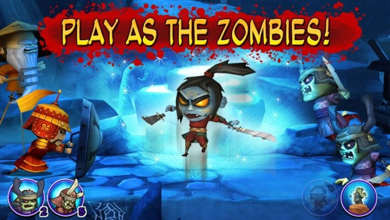 Samurai vs Zombies для iOS