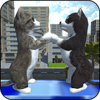 Cute Cat And Puppy World для Android