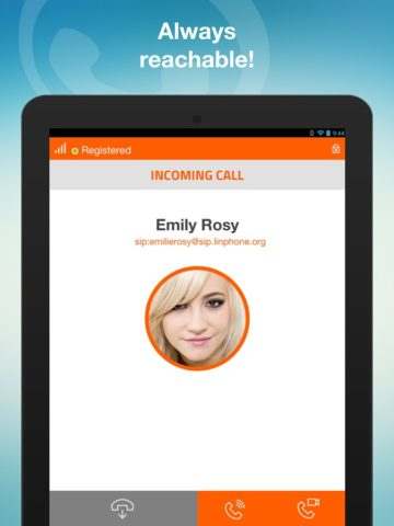 Linphone для Android