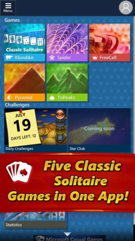 Microsoft Solitaire Collection для iOS
