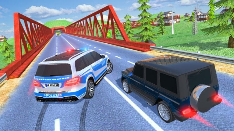 Offroad Police Car для Android