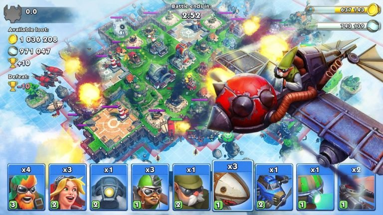 Sky Clash Lords of Clans для Android