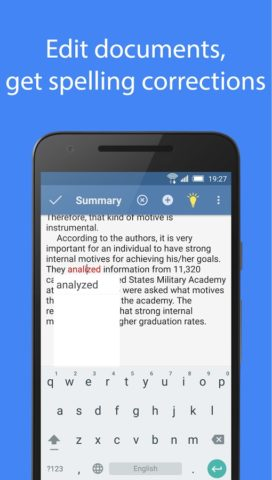 Spell Checker для Android