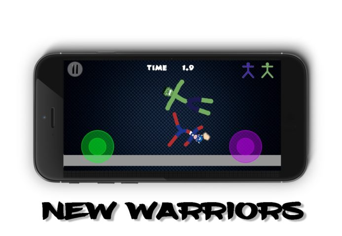 Stickman Warriors 4 для Android