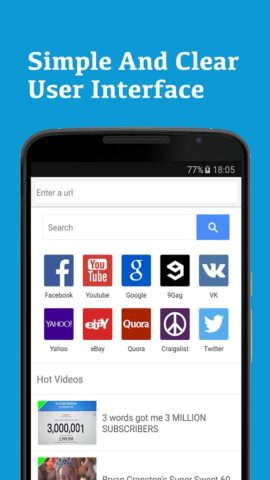 Surf Browser для Android