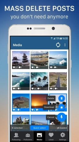 Cleaner for Instagram для Android