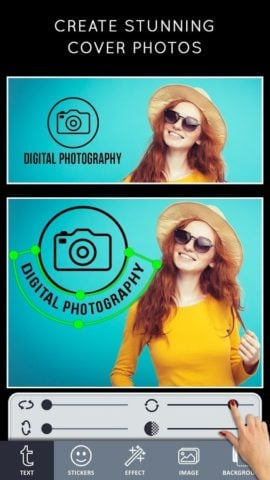 Cover Photo Maker для Android