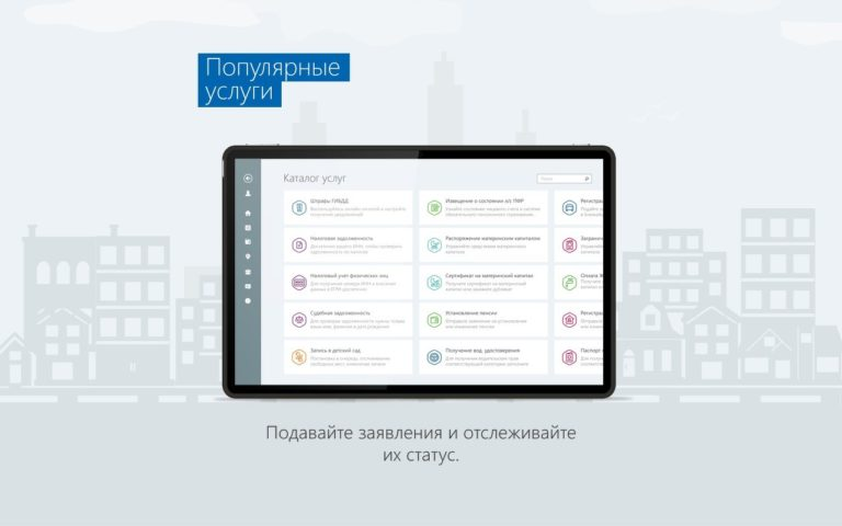 Госуслуги для Windows