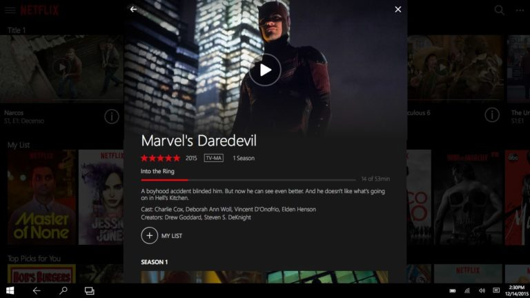 Netflix for Windows
