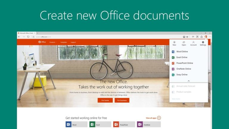 Office Online для Windows
