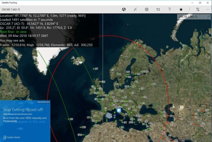 Satellite Tracking для Windows