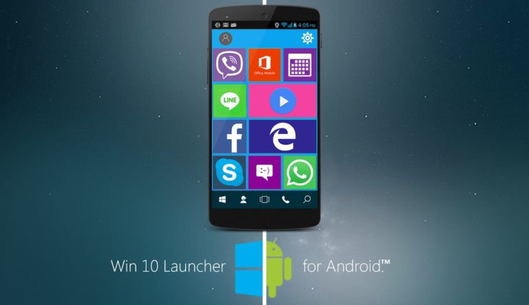 Win 10 Launcher для Android