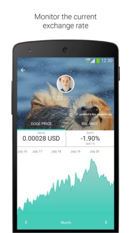 Dogecoin для Android