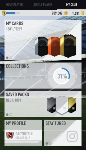 FUT 18 PACK OPENER by PacyBits для Android