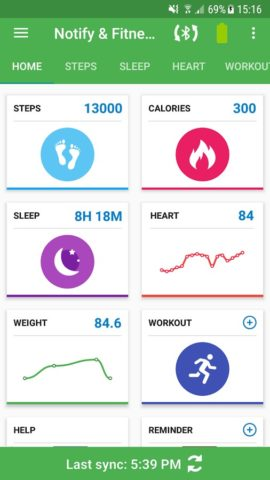 Fitness for Amazfit для Android