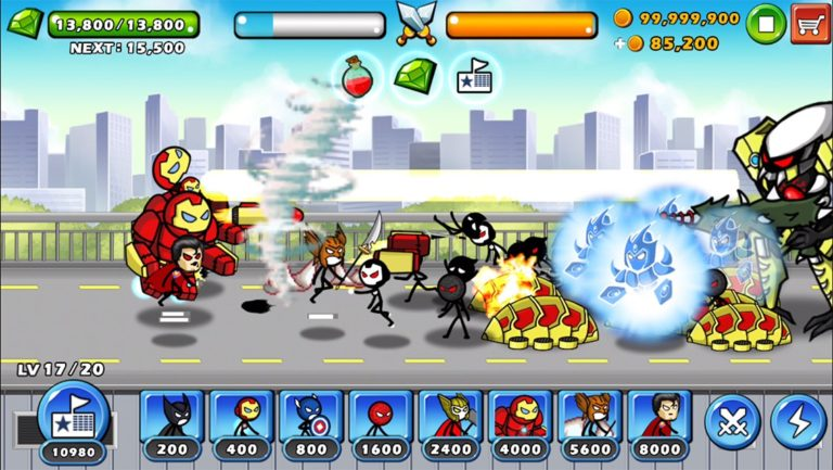 HERO WARS Super Stickman Defense для Android