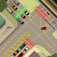 Intersection Controller для Android