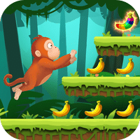 Jungle Monkey Run для Android