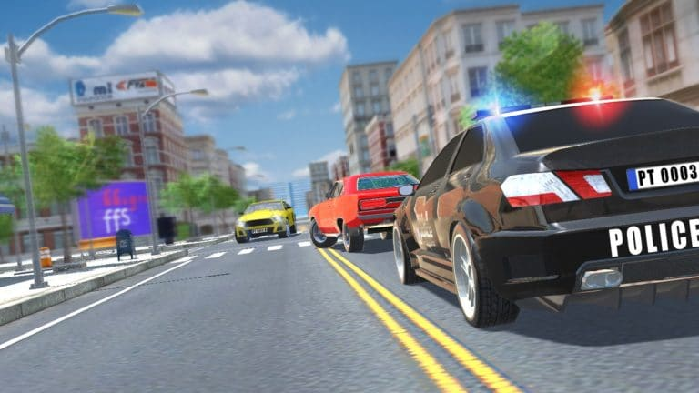 Police Car Chase для Android