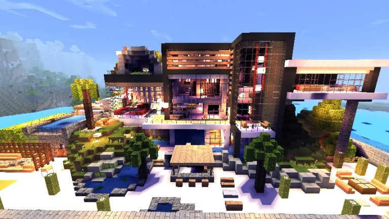 Redstone Houses для Android