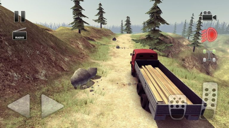 Truck Driver crazy road для Android