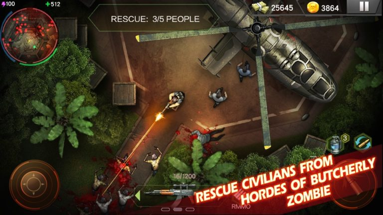 Zombie Shooter для Android