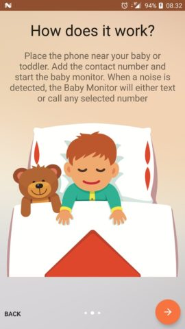 Baby Monitor для Android