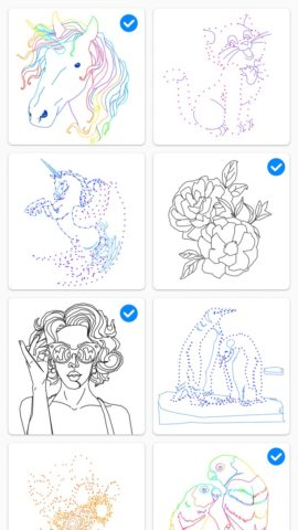 Dot to Dot to Coloring для Android
