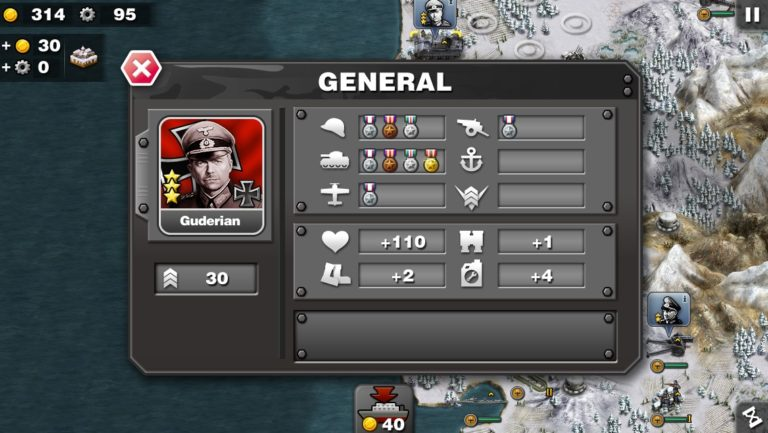 Glory of Generals для Android