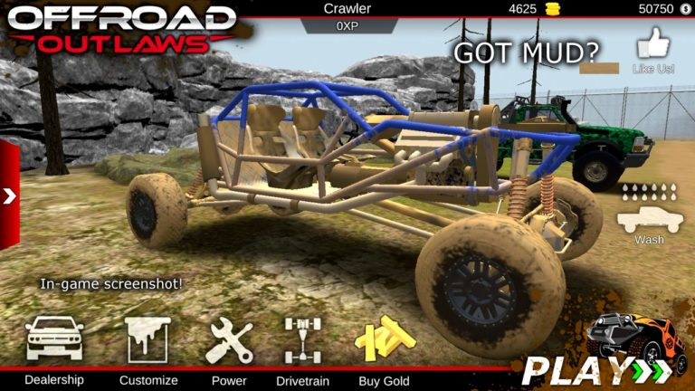 Offroad Outlaws для Android