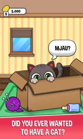 Oliver the Virtual Cat для Android