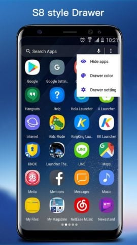 S8 Launcher для Android