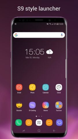 S9 Launcher для Android