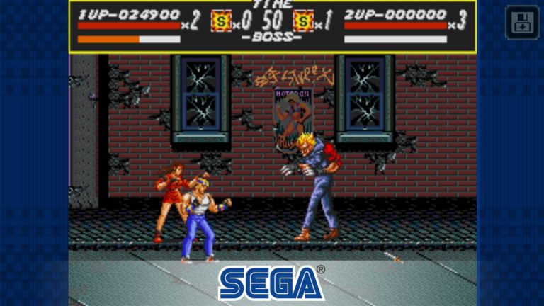 Streets of Rage для Android
