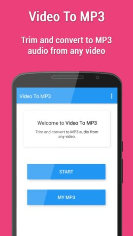 Video to MP3 для Android